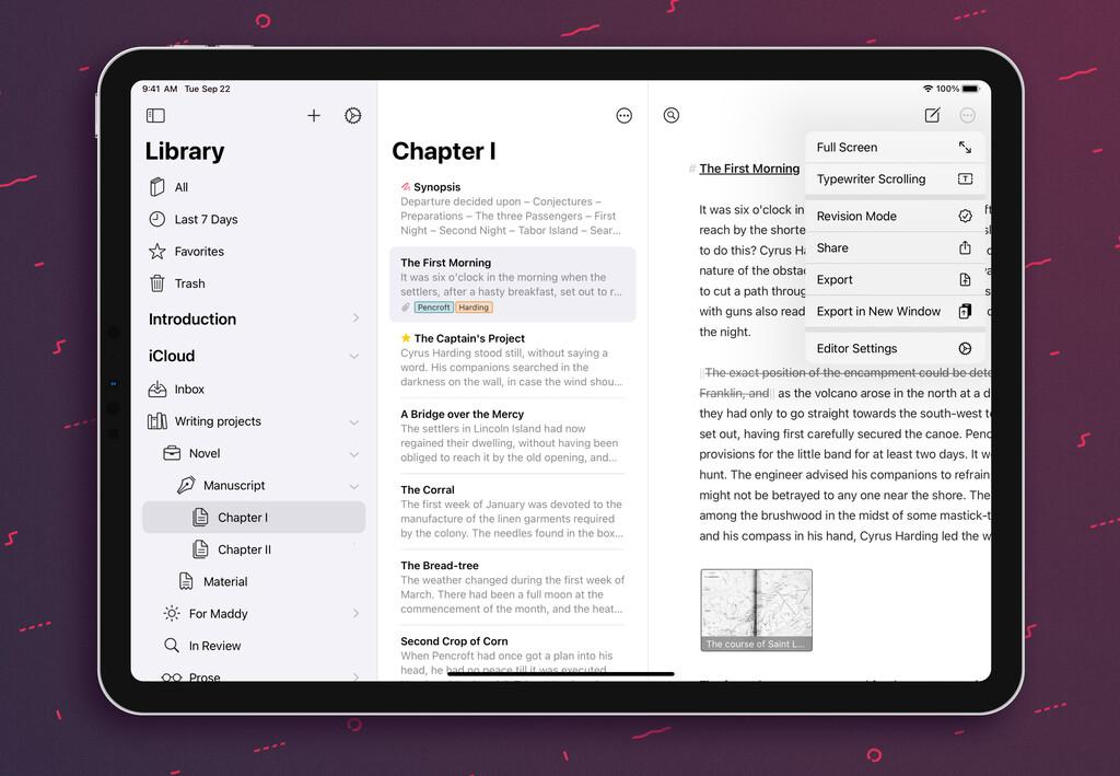 La corrección gramatical de Ulysses llegará al iPhone y al iPad la semana que viene junto a otras novedades