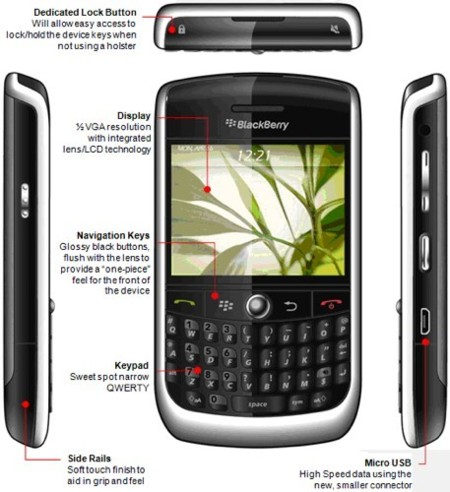 BlackBerry Javelin, más datos