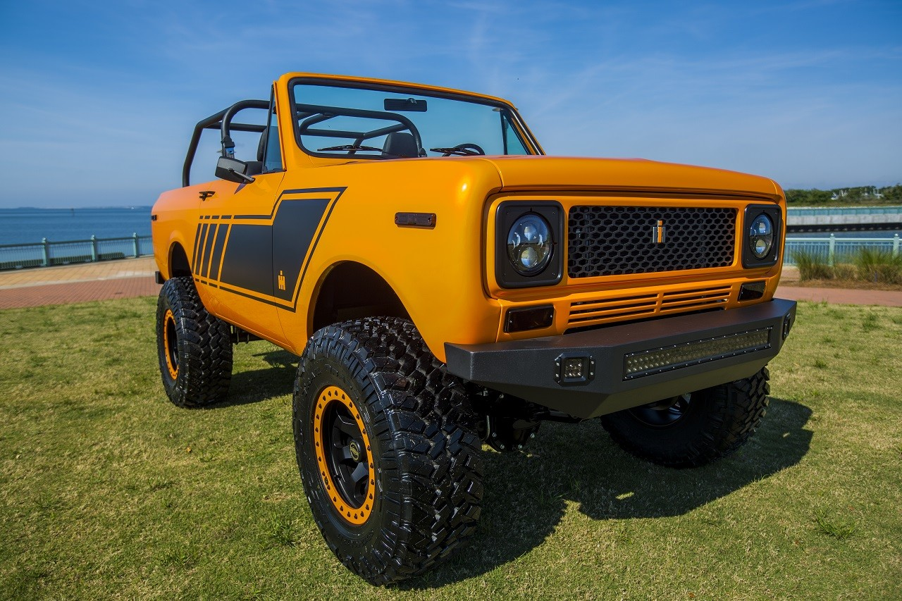 International Scout II 1979 restaurado por Velocity Restorations