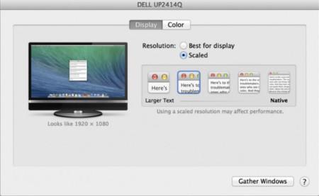 La nueva beta de OS X Mavericks trae compatibilidad para pantallas retina externas