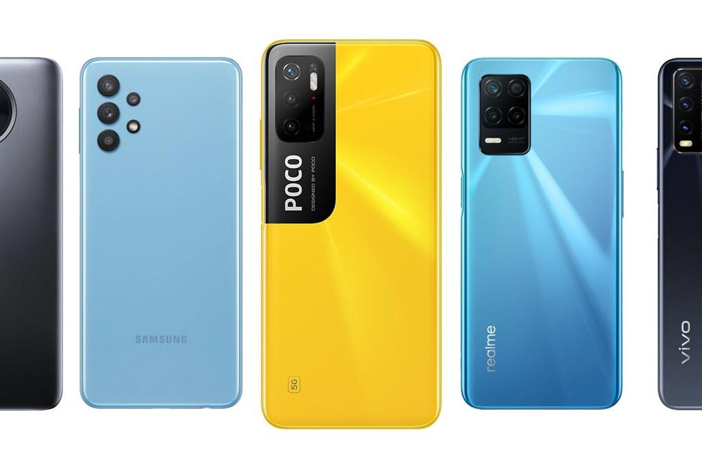 POCO M3 Pro, comparativa: así queda frente a Realme 8 5G, Redmi Note 9T, Galaxy℗ A32 5G y otros móviles debajo de 200 euros