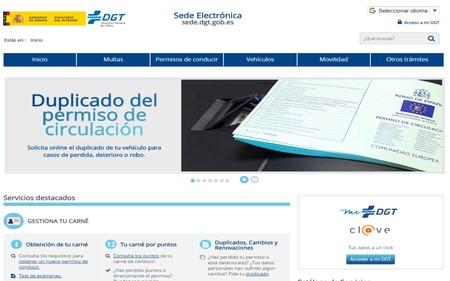 La DGT se moderniza y ya permite pedir online un duplicado del permiso de circulación, el permiso internacional, pagar multas...