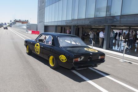 Opel Rekord C saliendo a pista