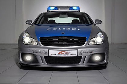Brabus Tune It! Safe! CLS Rocket policial