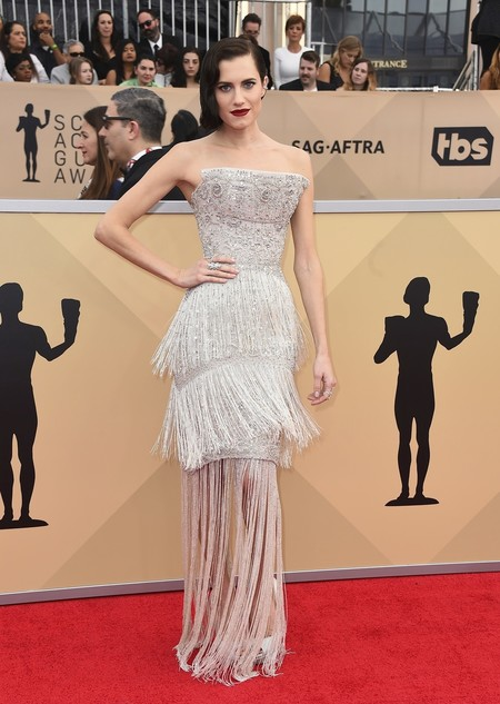 Alfombra Roja Sag Awards 2018 Allison Williams Ralph Russo