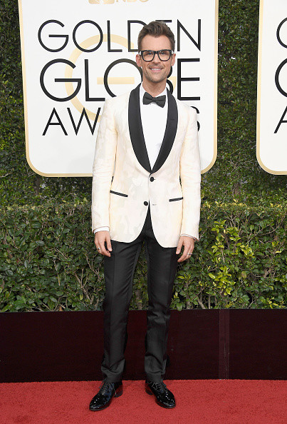 Brad Goreski Golden Globe Awards Red Carpet 2017 1