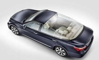 Lexus LS 600h L Landaulet: ¡Viva los novios!