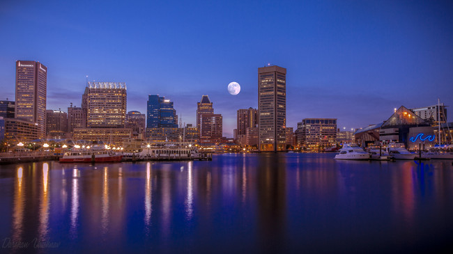 Superluna Baltimore
