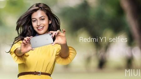 Xiaomi destaca la calidad de los selfies con su Redmi Y1 y su cámara de 16 megapíxeles