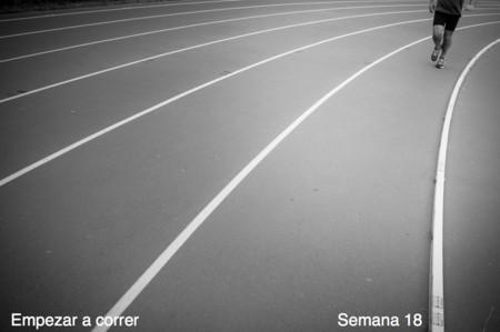 Entrenamiento para empezar a correr: semana 18