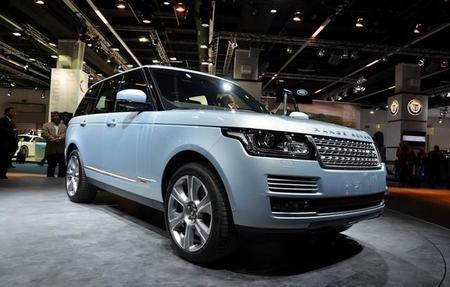 Range Rover Híbrido: presentado en el Salón de Frankfurt