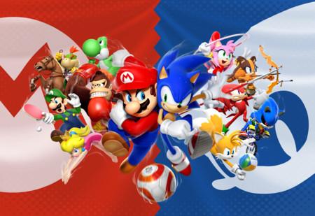 Los héroes de Mario y Sonic en los Juegos Olímpicos de Río 2016 cara a cara en su nuevo tráiler