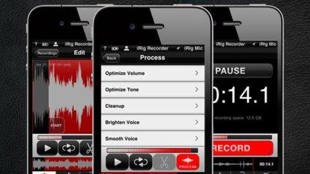 iRig Recorder, grabación y edición de audio para profesionales