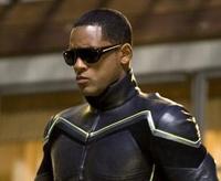 Imágenes de Will Smith con su traje de superhéroe en 'Hancock'