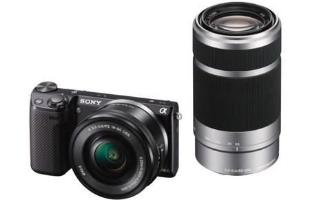 Sony NEX-5T, kit con dos objetivos