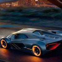 El próximo superauto híbrido de Lamborghini podría brillar en la oscuridad