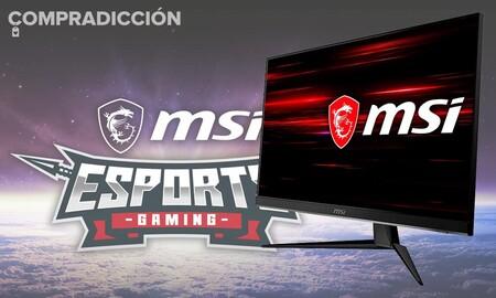 Ahórrate 70 euros en este completo monitor gaming: MSI Optix G271 por 219 euros en PcComponentes