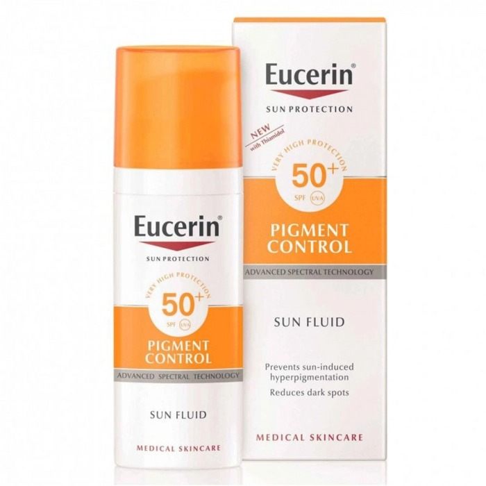 PIGMENT CONTROL FLUID SPF 50 SOLAR ANTIMANCHAS 50ML SUN PROTECTION EUCERIN
