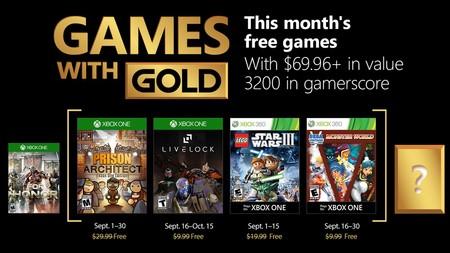 Juegos Gratis Para Xbox One Y Xbox 360 En Septiembre De 2018 Con Gold