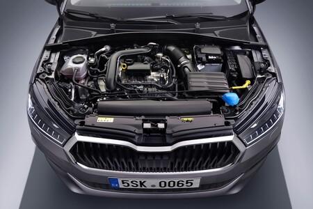 Skoda Fabia 2021 07 Motor
