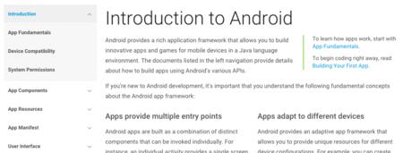 Documentacion Android Google