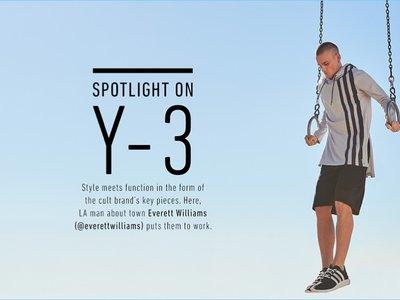 Y-3 tiene las prendas que te harán lucir extremadamente chic mientras te ejercitas