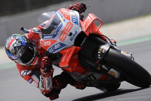 Jorge Lorenzo consigue la primera pole con Ducati y evita un nuevo récord de Marc Márquez