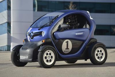 Un Renault Twizy en las carreras