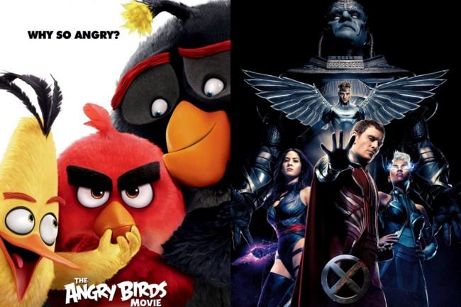 Angry Birds y X-Men: Apocalipsis