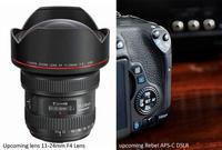 La Canon EOS 750D podría llegar en el CP+ junto a la óptica 11-24 mm F4L