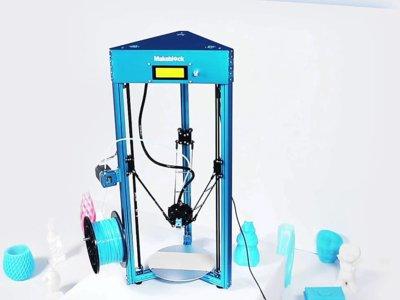 mGiraffe, una impresora 3D para crearla tú mismo con Makeblock