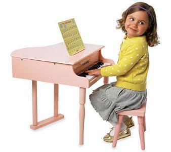 Piano para las pequeñas