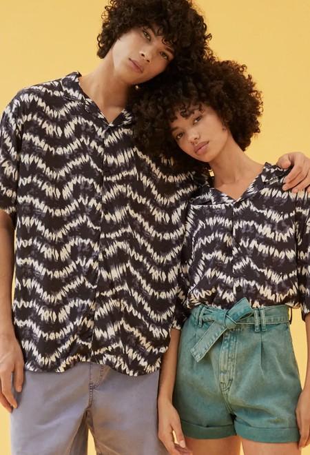 Camisas Manga Corta Estampadas 07