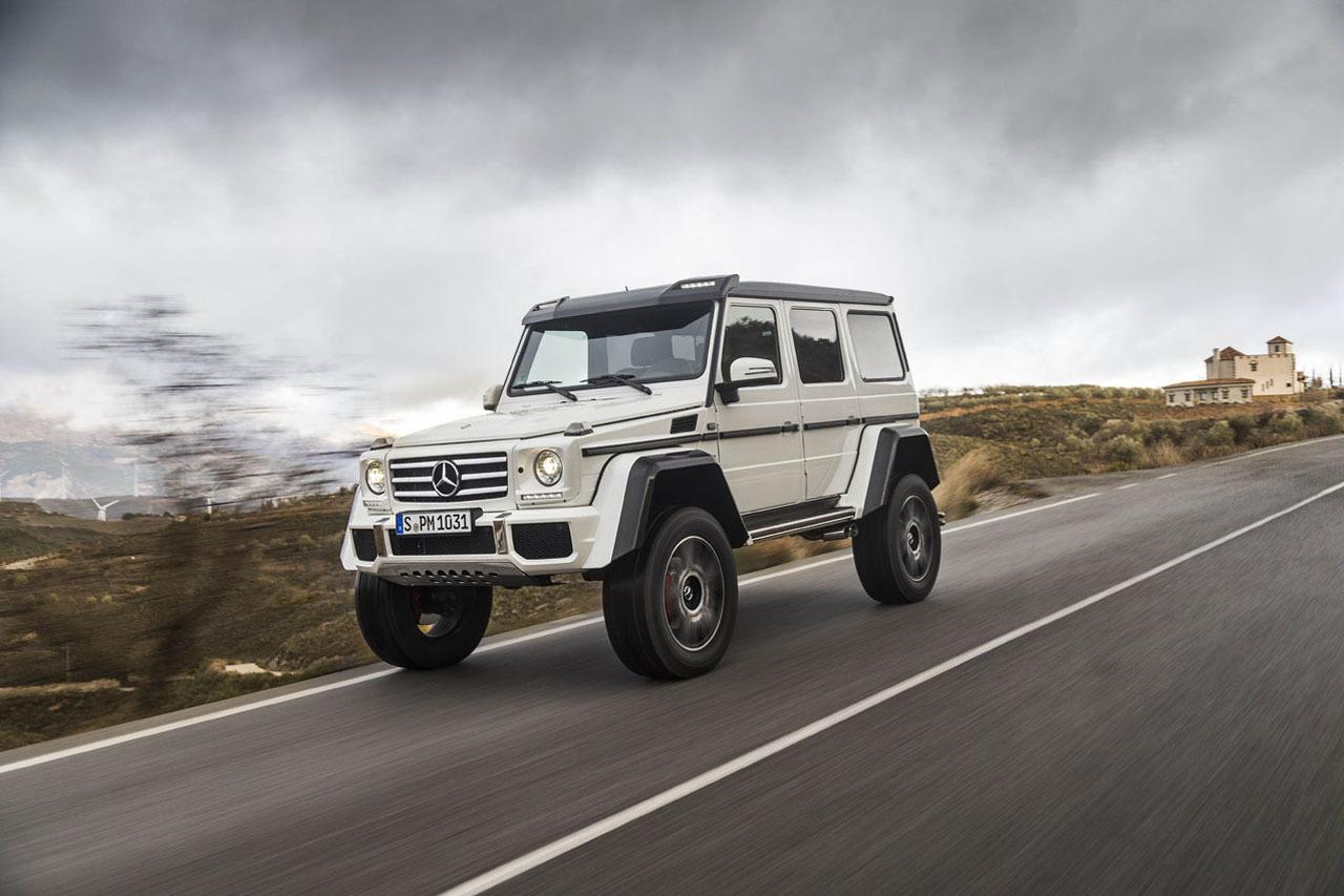 Foto de Mercedes-Benz G 500 4x4², toma de contacto (93/127)