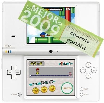 Nintendo DSi, mejor consola portátil de 2009