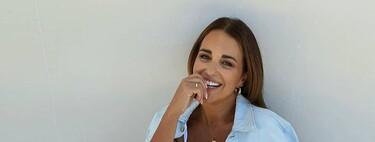 Ya sea con vestido blanco largo o con falda y top estampados, Paula Echevarría inspira nuestros looks más veraniegos