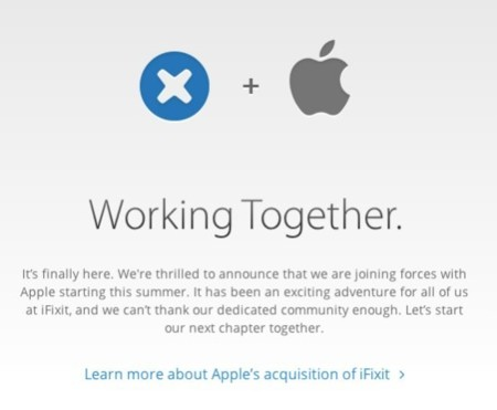 Apple compra iFixit