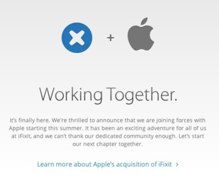 Apple compra iFixit