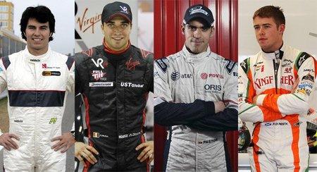 Temporada 2011 de Fórmula 1: ¿quién será el rookie del año?
