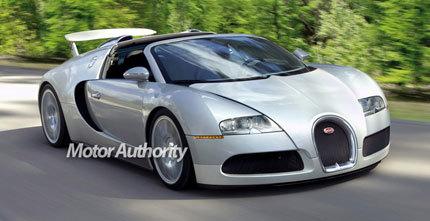 Bugatti Veyron Targa, parece que se confirman los rumores