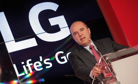 """""""Los V30 y los LG G6 en poco tiempo tendrán las mejoras de inteligencia artificial del V30S"""" Jaime de Jaraíz, presidente de LG"""