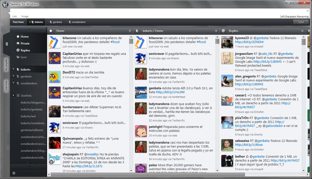 Foto de Seesmic for Windows (8/9)