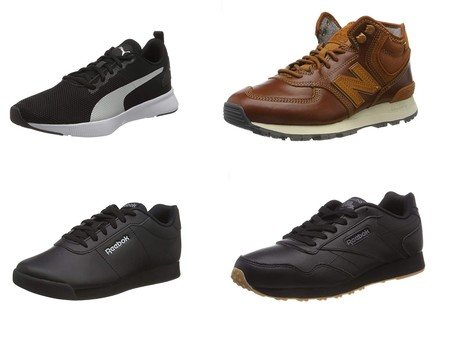 Chollos en tallas sueltas de zapatillas Reebok, New Balance o Puma por menos de 30 euros en Amazon