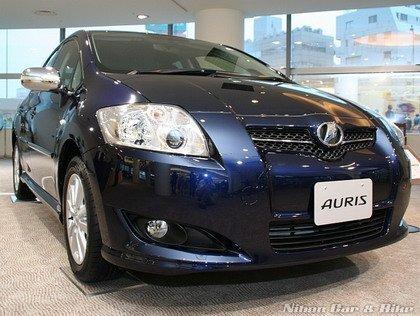 Nuevas fotos del Toyota Auris