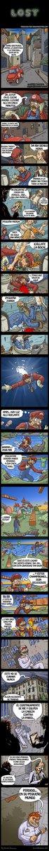 Mario está perdido