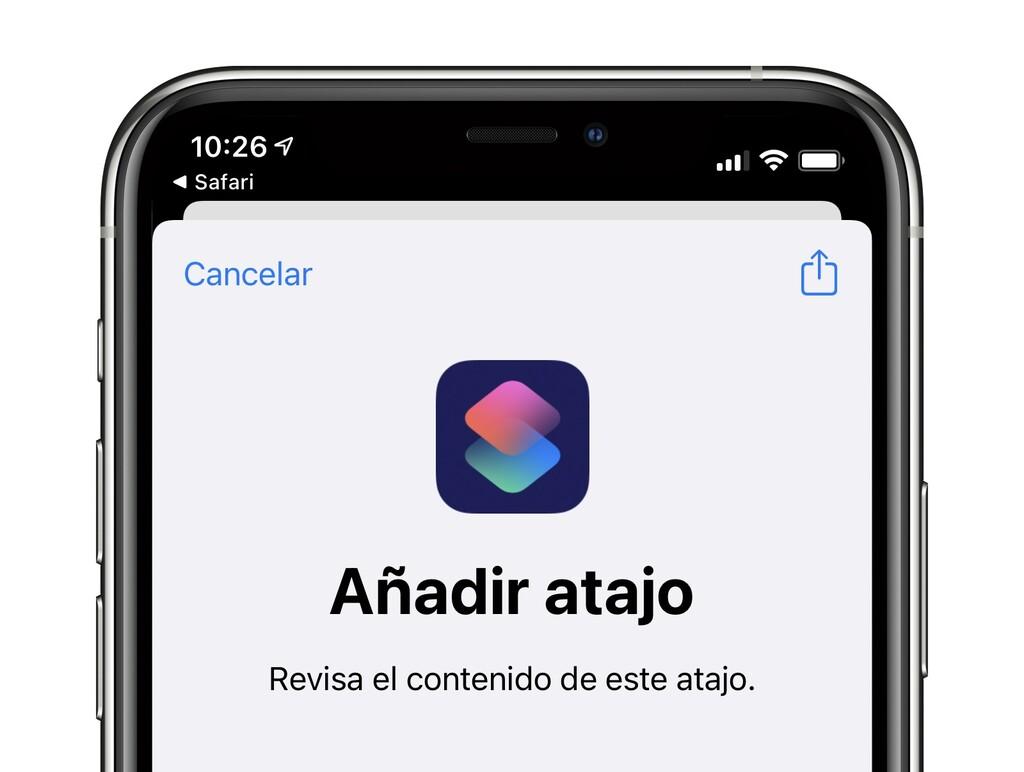 Los enlaces de iCloud para compartir atajos ya vuelven a desempeñar tras el extraño error de ayer