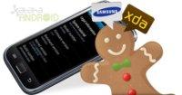 Actualización a Android 2.3.3 Gingerbread para el Samsung Galaxy S a la vista