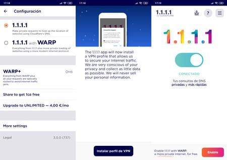 Warp Vpn Android