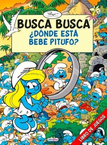 """""""Busca, busca: ¿dónde está el Pitufo?"""", unos libros muy entretenidos"""