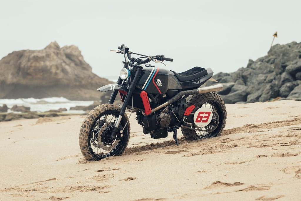 Yamaha XSR700 The Orbiter Maria Motorcycles